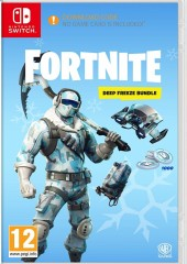 Fortnite Deep Freeze Bundle Nintendo Switch