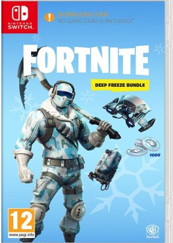 Fortnite Deep Freeze Bundle Nintendo Switch