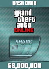 Grand Theft Auto V GTA: Megalodon Shark Cash Card PC