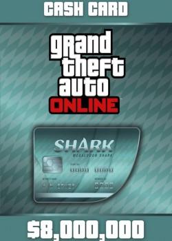Grand Theft Auto V GTA: Megalodon Shark Cash Card PC