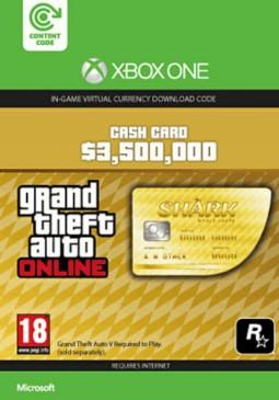 Joc Grand Theft Auto V GTA: Whale Shark Cash Card - Xbox One pentru XBOX