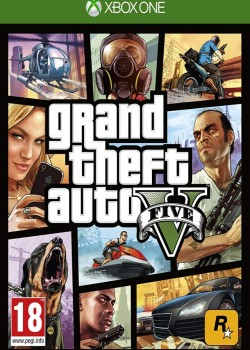 Grand Theft Auto V XBOX One CD Key