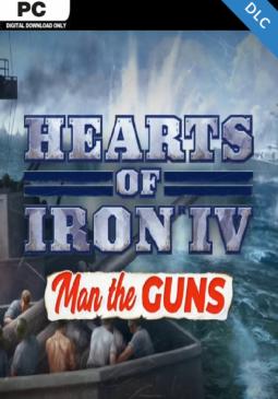 Joc Hearts of Iron IV - Man the Guns DLC Steam CD Key pentru Steam
