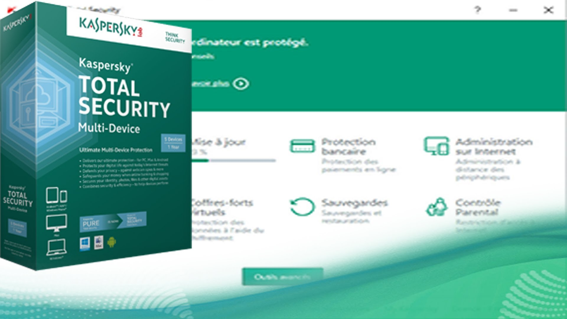 how to stop kaspersky secure internet connection