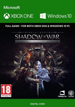 Joc Middle-Earth: Shadow of War XBOX One / Windows 10 CD Key pentru XBOX