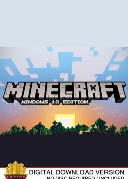 Minecraft Windows 10 Edition Microsoft Key