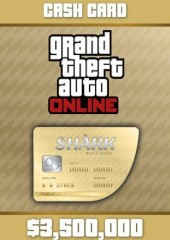 Grand Theft Auto V GTA: Whale Shark Cash Card PC