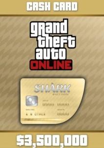 Grand Theft Auto V GTA: Whale Shark Cash Card