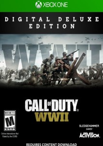 Call of Duty: WWII Digital Deluxe XBOX One Key