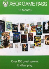 MICROSOFT XBOX GAME PASS 12 MONTHS