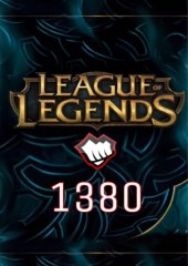 League of Legends 1380 Riot Points