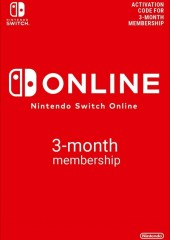 Nintendo Switch Online Membership 90 Days EUROPE
