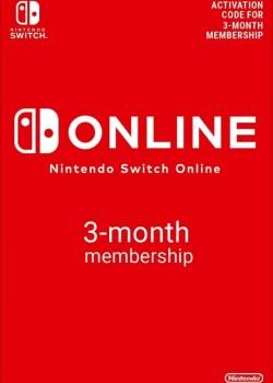 Nintendo Switch Online Membership 90 Days EUROPE
