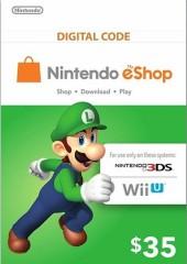 Nintendo eShop Card $35