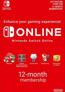 Nintendo Switch Online Membership 365 Days EUROPE