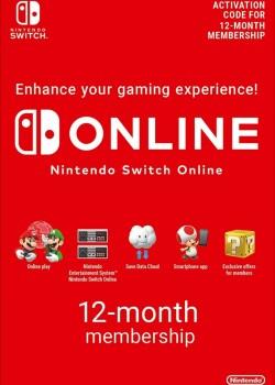 Nintendo Switch Online Membership 365 Days EUROPE