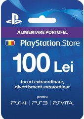 PlayStation Network Card 100 lei RO