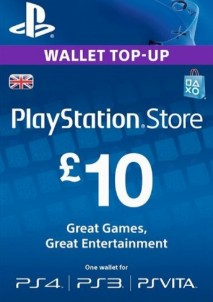 PlayStation Network Gift Card 10 GBP United Kingdom