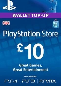 PlayStation Network Gift Card 10 GBP United Kingdom