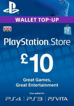Joc PlayStation Network Gift Card 10 GBP United Kingdom pentru PSN