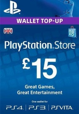 Joc PlayStation Network Gift Card 15 GBP PSN UNITED KINGDOM pentru PSN