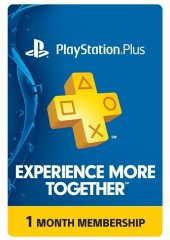 Playstation Plus CARD UNITED KINGDOM 30 Days