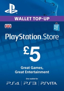 Joc PlayStation Network Gift Card 5 GBP PSN UNITED KINGDOM pentru PSN
