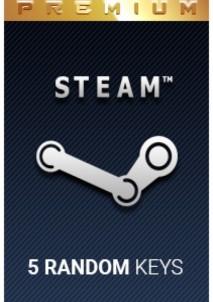 Random PREMIUM 5 Keys Steam