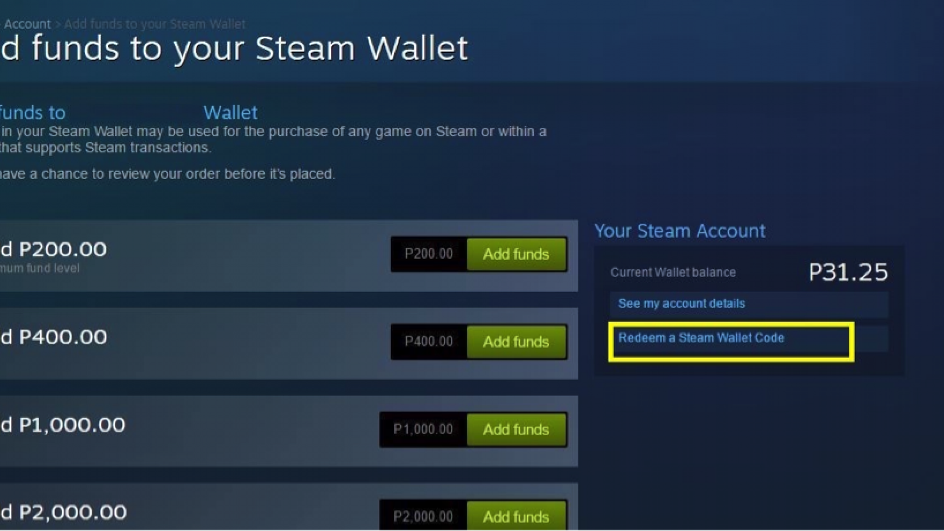 Steam Wallet Card €100 Global Activation Code