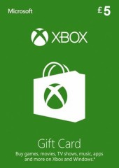 XBOX LIVE GIFT CARD 5 GBP UNITED KINGDOM