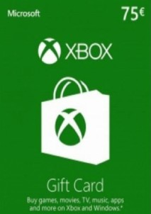 XBOX LIVE GIFT CARD EUROPE 75 EUR