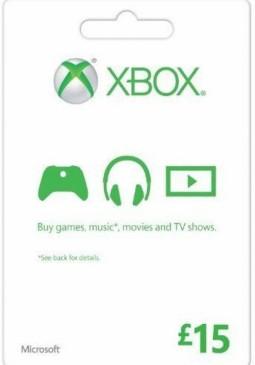 Joc XBOX LIVE GIFT CARD 15 GBP UNITED KINGDOM pentru XBOX GIFT CARD