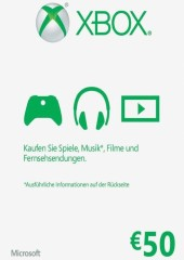 Xbox Live Gift Card Europe 50 EUR