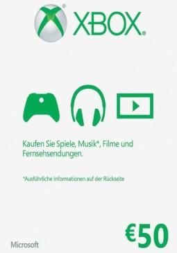 Joc Xbox Live Gift Card Europe 50 EUR pentru XBOX GIFT CARD