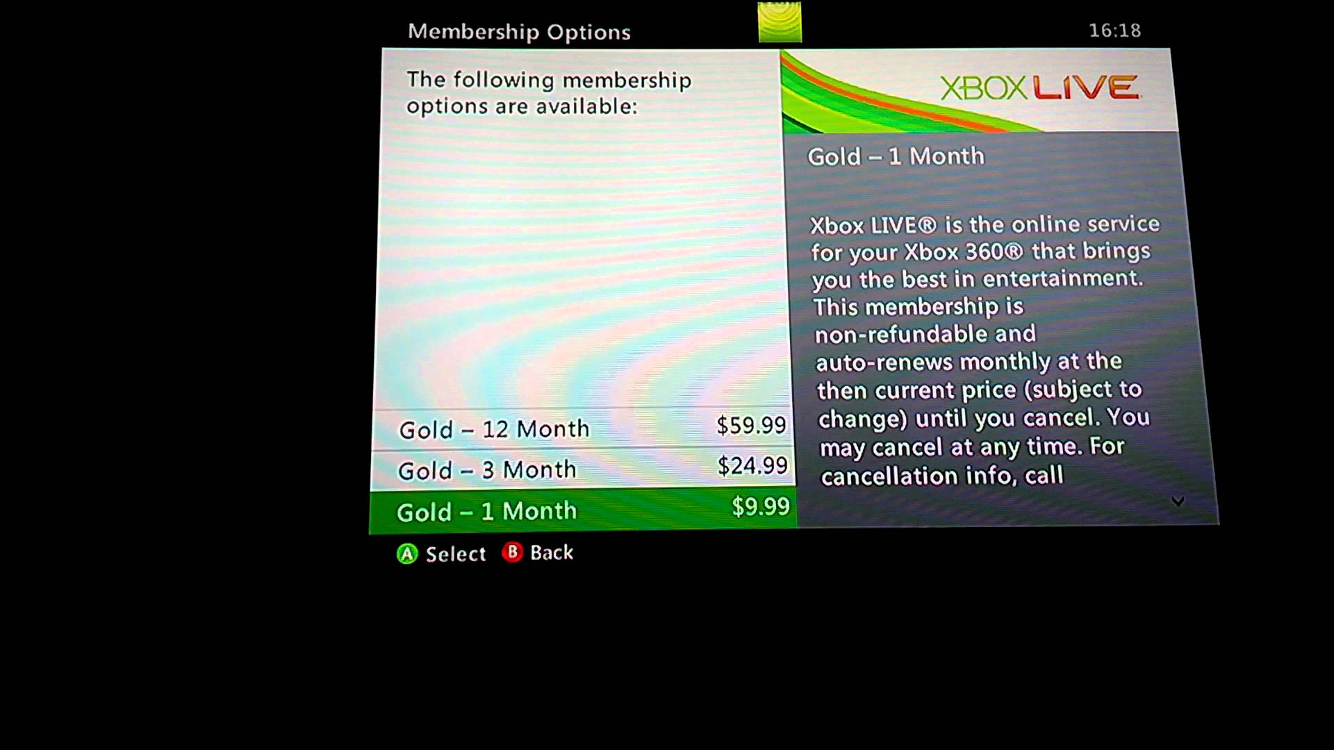 Xbox Live Gold 6 Months CD-Key