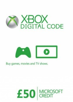 XBOX LIVE GIFT CARD 50 GBP UNITED KINGDOM