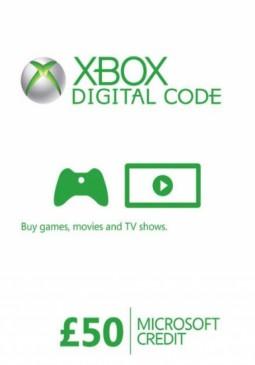 Joc XBOX LIVE GIFT CARD 50 GBP UNITED KINGDOM pentru XBOX GIFT CARD