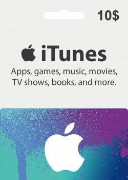 Apple iTunes Gift Card 10 USD