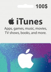 Apple iTunes Gift Card 100 USD