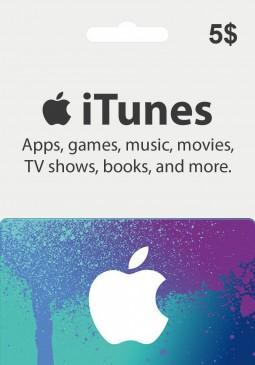 Joc Apple iTunes Gift Card 5 USD pentru iTunes