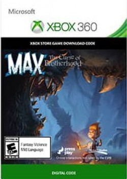 Max: The Curse of Brotherhood  Xbox 360 key code with instant delivery