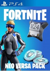 Fortnite Epic Neo Versa Bundle + 500 V-Bucks PSN PS4