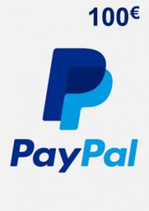 PayPal Giftcard 100 EUR
