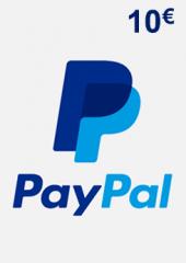 PayPal Giftcard 10 EUR