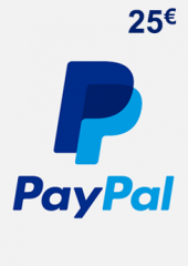 PayPal Giftcard 25 EUR