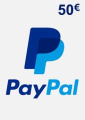 PayPal Giftcard 50 EUR