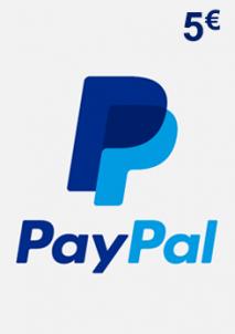 PayPal Giftcard 5 EUR