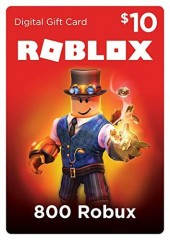 Roblox Card 10 USD - 800 Robux Key