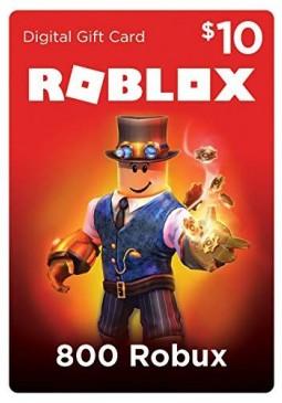 Joc Roblox Card 10 USD - 800 Robux Key pentru Official Website