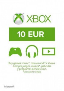 Xbox Live Gift Card Europe 10 EUR
